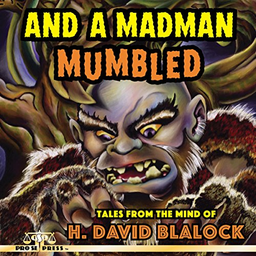 And a Madman Mumbled audiobook cover art