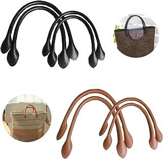 Handtaschenherstellung Handgriffersatz 1pcs Handtaschengriff Taschengriff Peddigrohr Taschenhenkel F/ür Handtasche