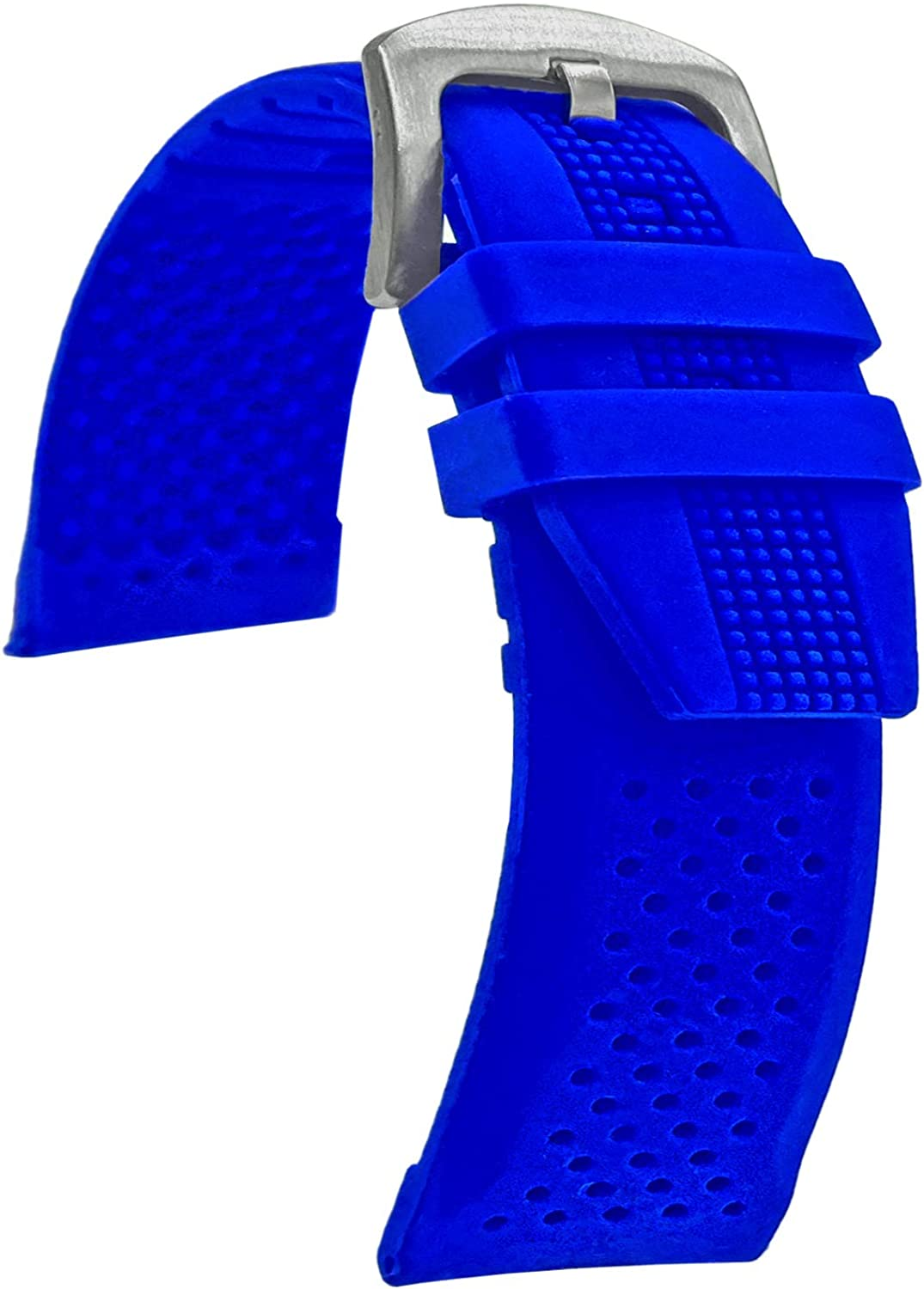 Quality Waterproof Silicone Watch Band B Soft Rubber Seasonal Weekly update Wrap Introduction Strap