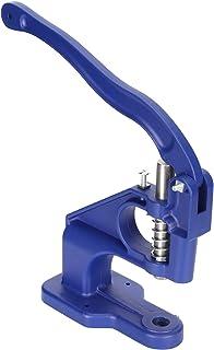 needlid Machine de Presse à Main, Machine de Presse à Main en Aluminium, Robuste pour Boutons à Rivets, Boutons à Cinq Gri...
