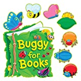 Trend Enterprises Inc. Buggy for Books Bulletin Board Set