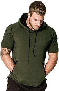 Fashion Tops for Men - Hipster Hip Hop Slim Fit Hoodie Casual Hooded T-Shirt Mens Sweatshirt Outwear Top Blouse
