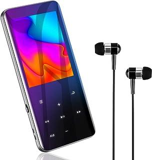 MP3プレーヤー 『2020最新進化型・高速5.0』Bluetooth5.0 MP3プレーヤー 音楽プレーヤー HIFI超高音質 2.4インチHD大画面/3D曲面 16GB内蔵 128GBまで拡張可能 スピーカー内臓 SDカード対応 超軽量 ワ...