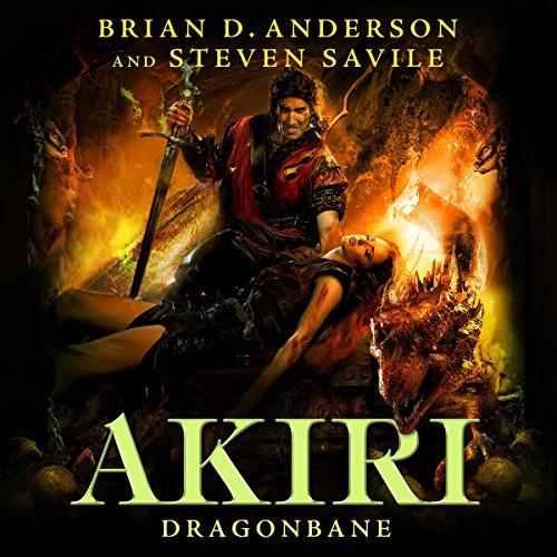 Dragonbane audiobook cover art