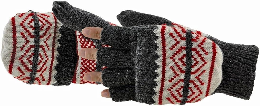 Manzella Over item handling ☆ Women's Snowflake Gloves Lowest price challenge Convertible