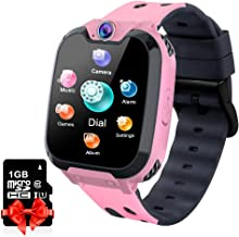 Kids Smart Watch Music Player with SD Card HD Touch Screen Sports Smartwatch Games..