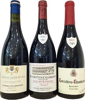 アルマン ルソー、ジャン マリー フーリエ、ティボー リジェ ベレール 、ジュヴレ シャンベルタン村特級区画3本セット(赤ワイン750ml×3本)