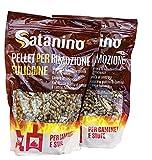 Satanino - PELLET RIMOZIONE FULIGGINE - Pulitore specifico per Stufe e Caldaie a Pellet