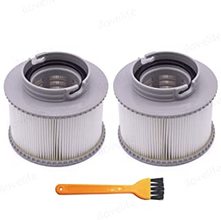 ilovelife Replacement Swimming Pool Filter Part - 2 Pack High Efficiency Swimming Pool Filter Cartridge Strainer for MSPA FD2089