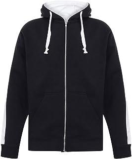 Finden & Hales Mens Full Zip Hooded Sweatshirt/Hoodie