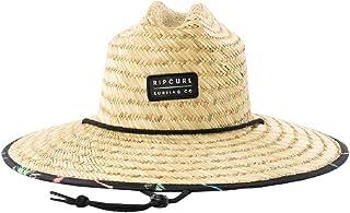 Men's Paradise Straw Lifeguard Sun Hat, Adjustable Straw...