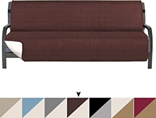 Reversible Futon Slipcover, Futon Covers for Living Room Futon Slipcover, Width Up to 70