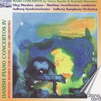 Bendix / Simonsen: Danish Piano Concertos Vol. 4