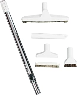 Cen-Tec Systems 93785 Premium Vacuum Attachment Kit with Telescoping Wand, Gray