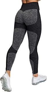 FITTOO Women's High Waisted Butt Lifting Seamless Leggings Gym Fitness Tights Tummy Control Workout Yoga Pants