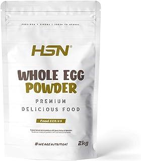 comprar comparacion Proteína de Huevo Entero en Polvo de HSN | Para Vegetarianos | Sustituto del Suero de Leche | 100% Albúmina de Clara de Hu...