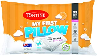 Tontine T2329 My First Extra Soft and Low Pillow, White