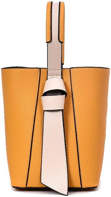 AllhqFashion Women's Casual Knot Pu Tote Bags Crossbody Bags,FBUBC220328