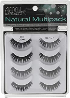 Ardell Natural Multipack Lashes - 101 Black 4 Pairs