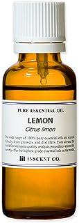 レモン 30ml インセント エッセンシャルオイル 精油 アロマオイル
