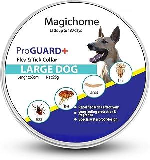 comprar comparacion Magichome Collar Antiparasitario para Perros contra Pulgas, Garrapatas y Mosquitos, Gris
