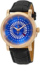 Lucien Piccard Ruleta Date Indicator Men's Watch LP-40014-RG-03