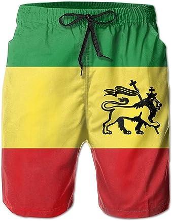 Swim Trunks Summer Beach Shorts Pockets Boardshorts for Men Youth Boys Funny Egg Print Black