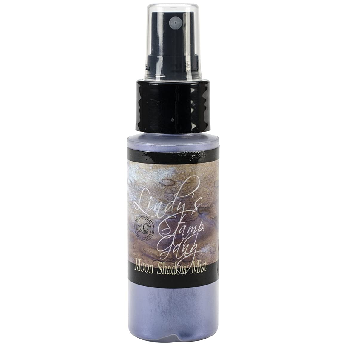 Lindy's Stamp Gang Moon Shadow Mist Spray Paint, 2-Ounce Bottle, Bluebeard Blue Violet