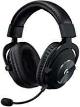 Logitech G Pro X Gaming Headset with Blue Voice Technology 981-000817 (Renewed)