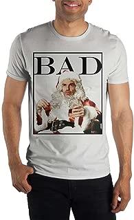 Bad Santa Movie Mens White T Shirt