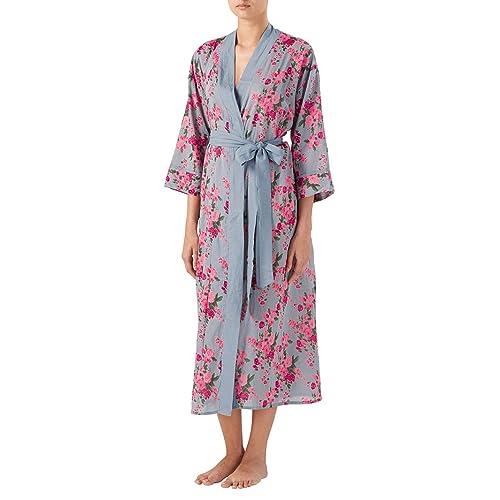 8b3cc56e80 Gabrielle Parker Cotton Kimono Dressing Gown