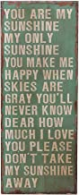Best you are my sunshine rustic wooden sign Reviews