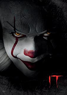 MightyPrint IT Chapter 1 - Pennywise The Dancing Clown - Unique Wall Art Durable Print- Not a Paper Poster - Movie Collectible - Perfect for Gifting and Collecting