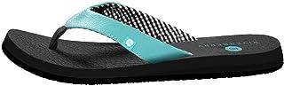Riverberry Women's Yoga Flip Flop with Yoga Mat Padding