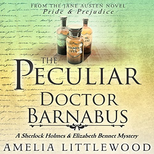 The Peculiar Doctor Barnabus audiobook cover art