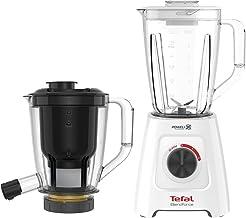 Tefal BL42Q Blendforce 2-in-1 Blender with Juicer Attachment, 2L, White