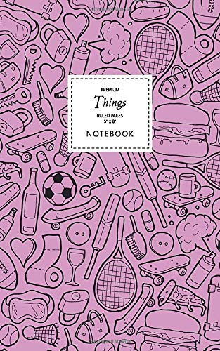 Things Notebook - Ruled Pages - 5x8 - Premium (Pink)