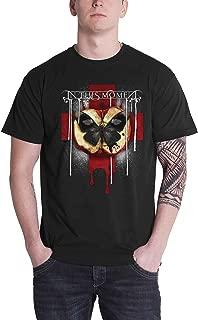 T Shirt Rotten Apple Band Logo Official Mens Black