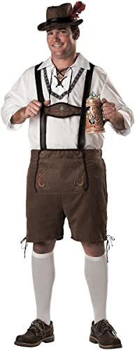 Incharacter Kost-me IC5035-2X Elite Mens Plus-Oktoberfest Guy Kost-m Größe 2XL