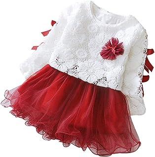 20d4765f9 Oliviavan,2pcs Vestidos Bebé Niña otoño 1-5 años Niñas Princesa Vestido  Manga Larga