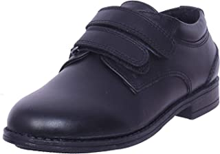 irnado Black Leather Shoes