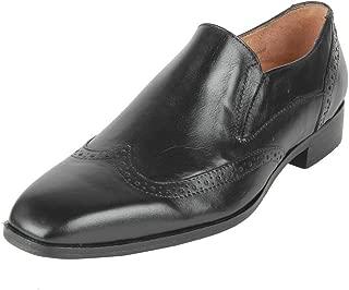 Salt N Pepper MAT Black Leather Formal Lace Up Shoes for Men in Many
