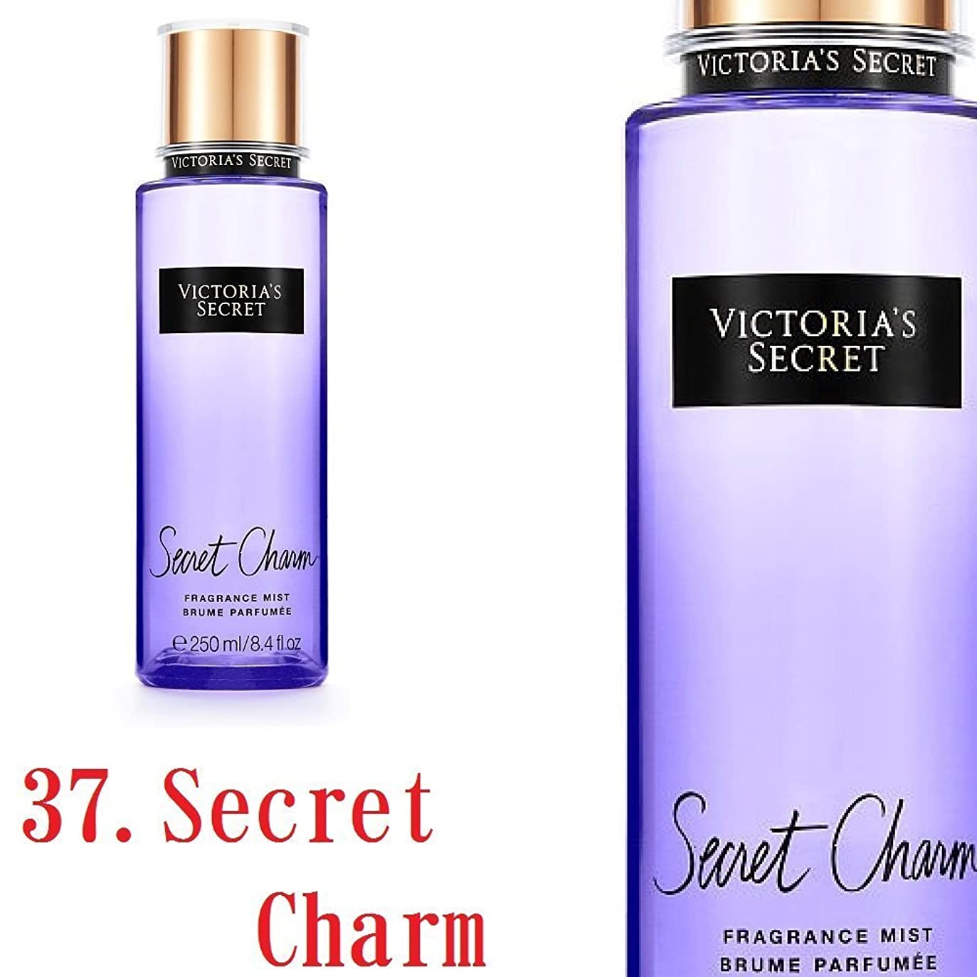 状厚いアテンダントVictoria's Secret Fantasies フレグランスミスト ヴィクトリアシークレット (37.シークレットチャーム) [並行輸入品]