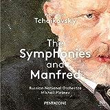 TCHAIKOVSKY: Las sinfonías & Manfred / RNO. Pletnev