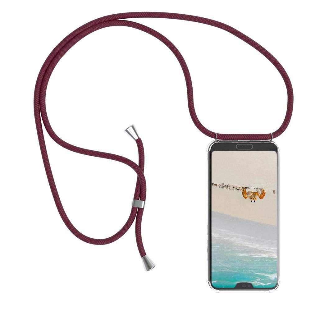 Mkej Case Funda Colgante movil con Cuerda para Colgar Xiaomi Mi 8 ...