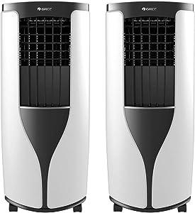 Gree 8000 BTU Portable Air Conditioner w/Remote (Renewed) (2 Pack)