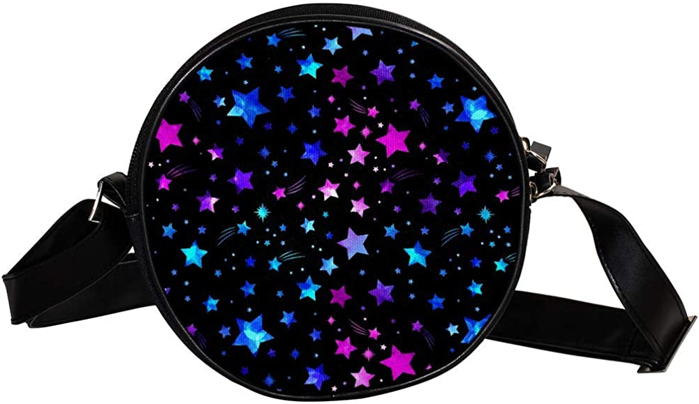 Coin Purse For Kids Max 69% OFF Color Stars Fixed price for sale Background Crossbody Mini Gi Bag