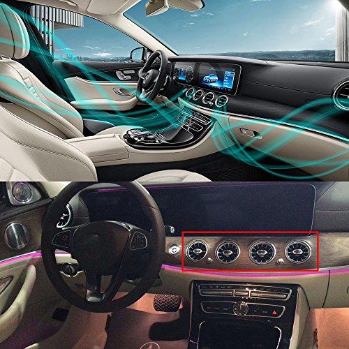 speciale auto accessoires 6 stks set auto ar kanalen Aircraft Airscrew ontwerp auto luchtverfrisser auto luchtreiniger auto Vent Outlet met geur parfum voor Mercedes-Benz E klasse W213
