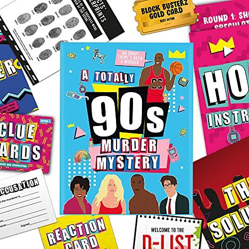 Gift Republic A Very 90s Murder Mystery Family Juego de Mesa