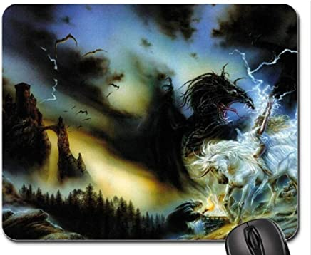 Mouse Pads,Licorne Donjon Et Dragon Mouse Pad, Mousepad (Waterfalls Mouse Pad)